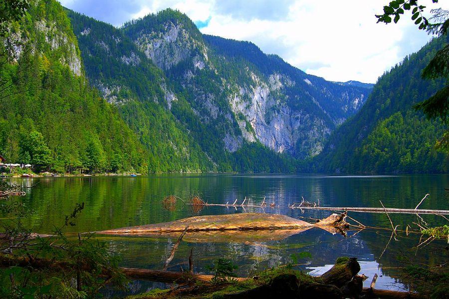 В озере Топлиц-Зее есть сокровища