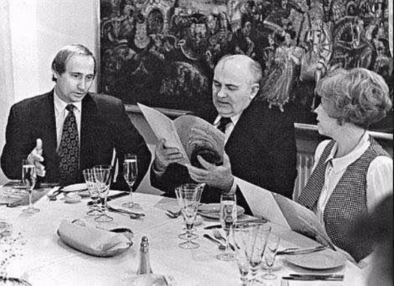 Путин и Горбачевы