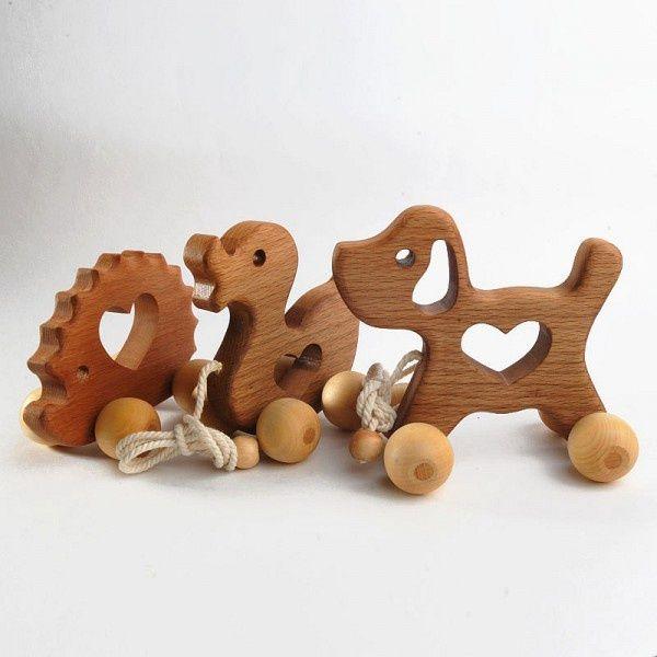 игрушки, дерево