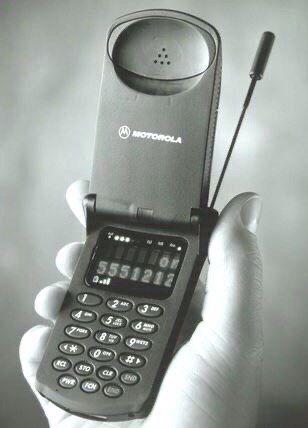 Motorola StarTAC, первый мобильный телефон