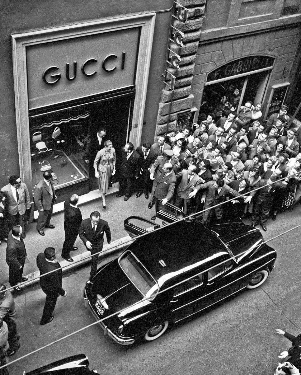 Открытие первого магазина Gucci в США