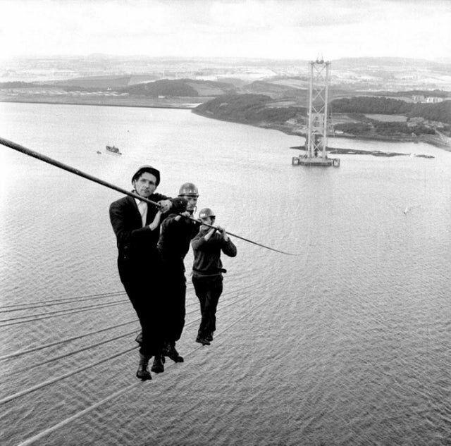 Идет строительство моста в Шотландии