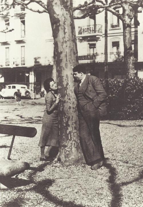 Экзюпери и его жена