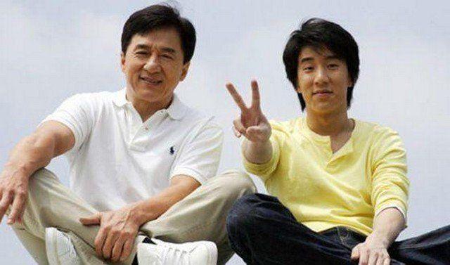 Джеки Чан, сын