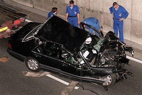 автомобиль, катастрофа, Диана