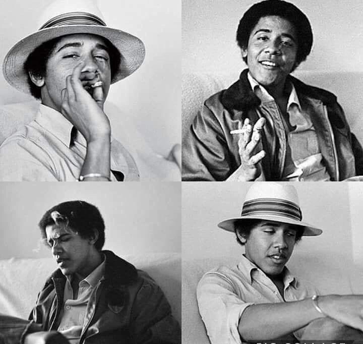Обама, травка
