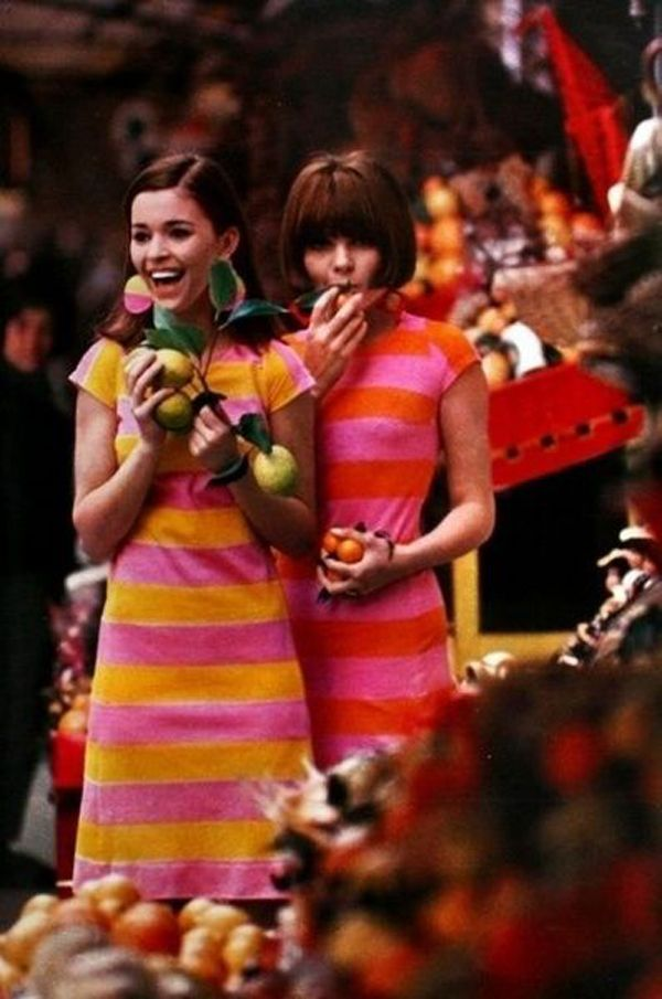 мода, Англия, девушки