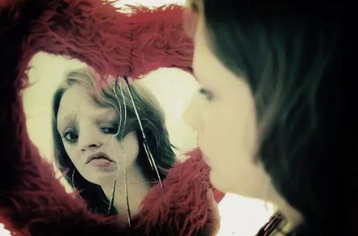 психическое расстройство, синдром, болезнь, зеркало, лицо, деффекты