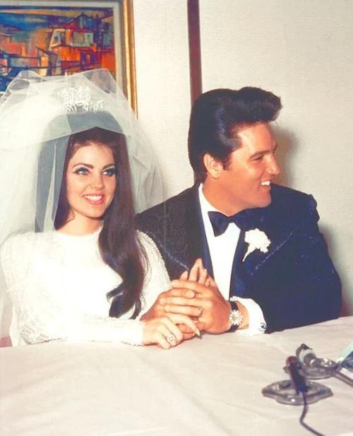 пресли, свадьба