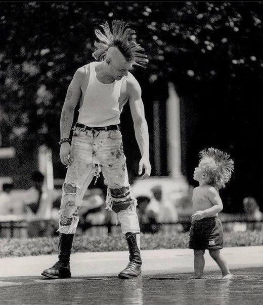 мальчик, мужчина, ирокез