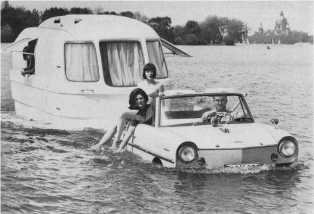 автомобиль, вода