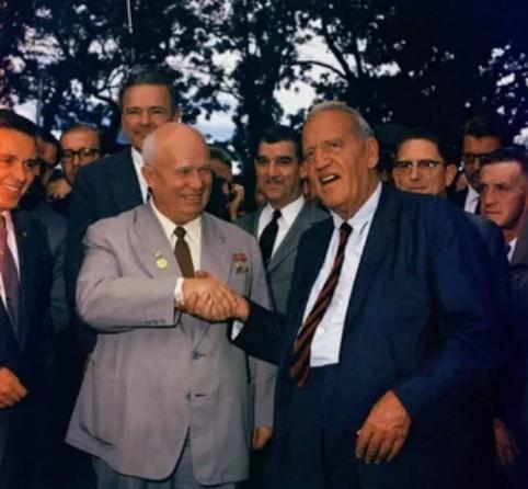 Никита Хрущев в США