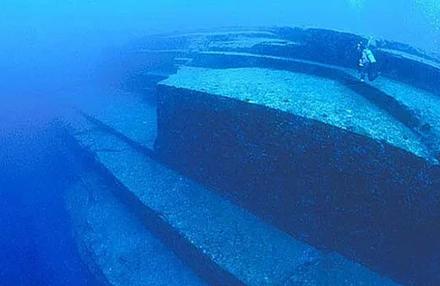 затонувший город на дне моря