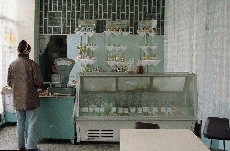 Магазин в Москве в 1989 году