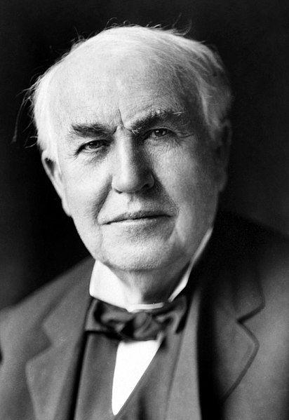 Эдисон, изобретатель, ученый