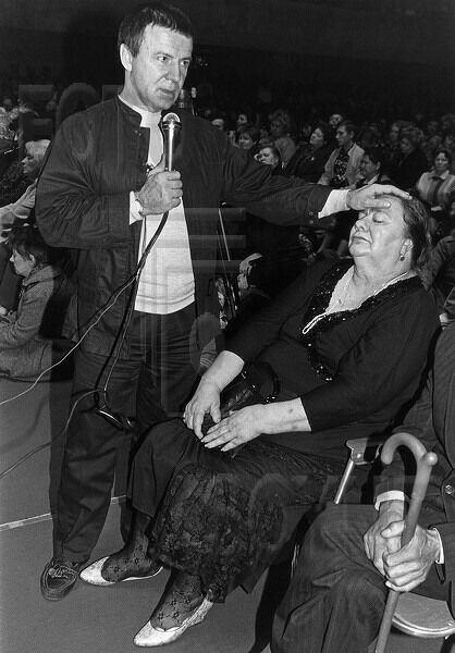 Дочь Брежнева на сеансе Кашпировского