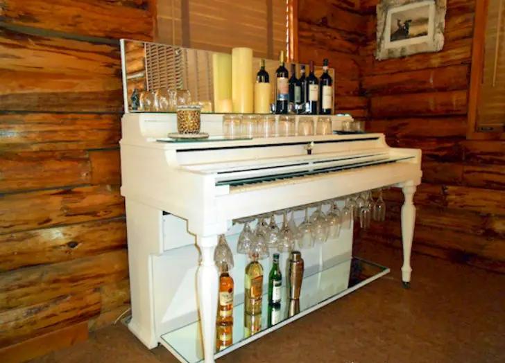 стойка, бар, пианино