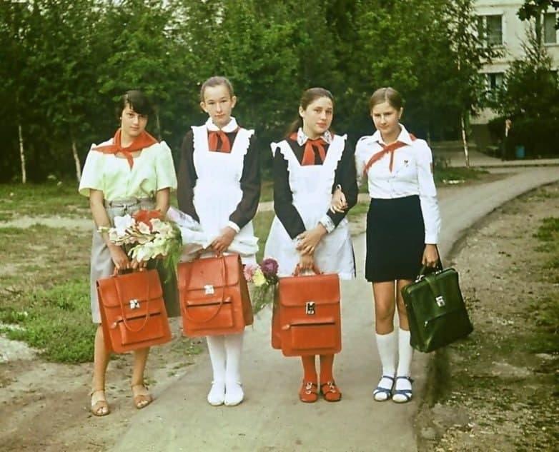 школьницы, сумки, форма