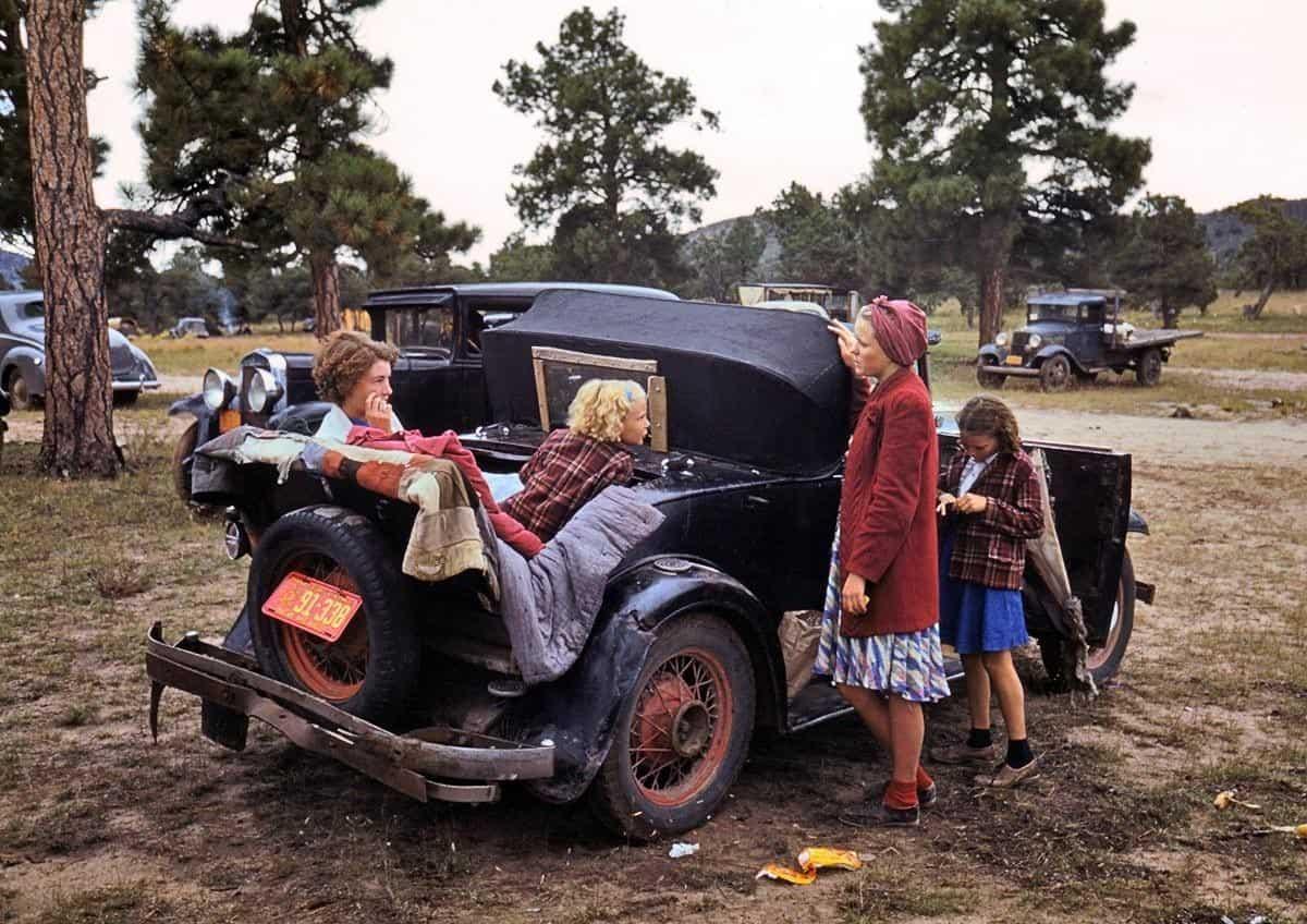 дети, автомобиль, ярмакра