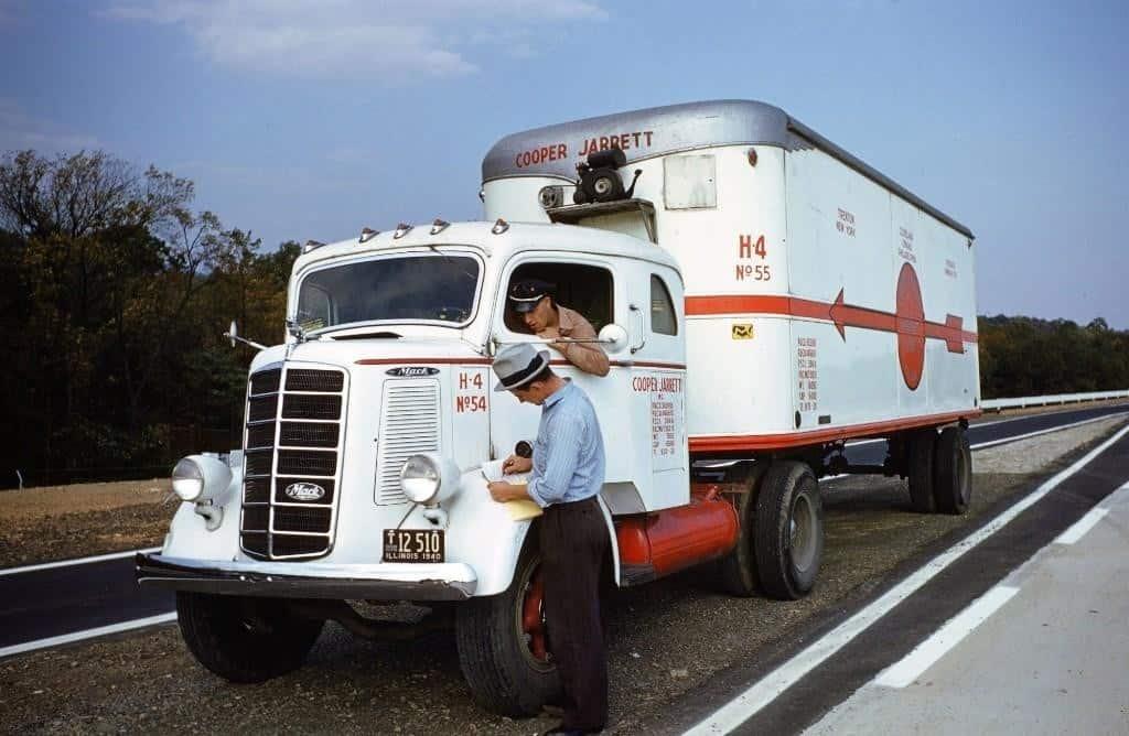 грузовик, водитель, обслуживание