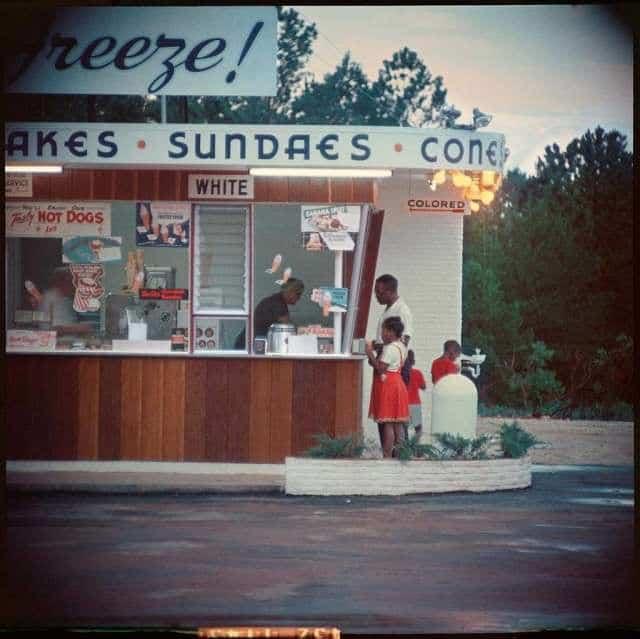 США, мороженое, покупка, семья