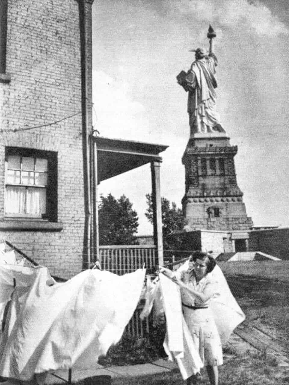 статуя, США