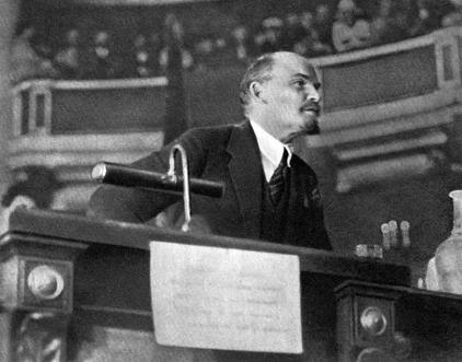 Ленин во время 2-го съезда Коминтерна