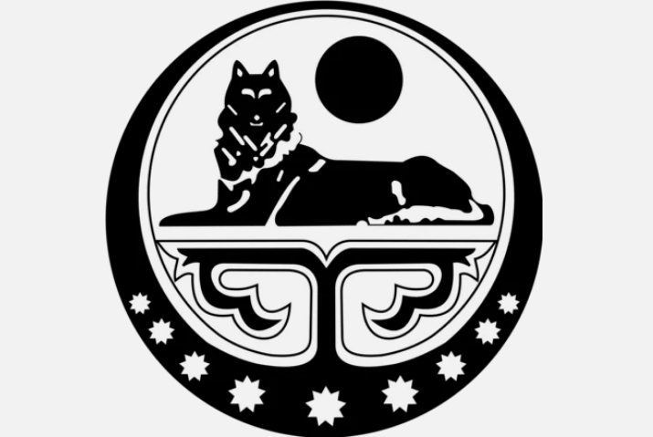 герб, волк