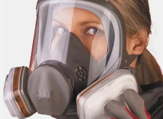 полнолицевая маска со сменными картриджами