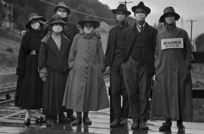 """Пандемия испанского гриппа """"испанка"""" 1918 год"""
