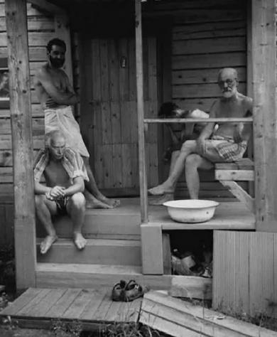 Эти умиротворенные мужчины вовсе не так просты  / Фото: ©www.pinterest.co.uk