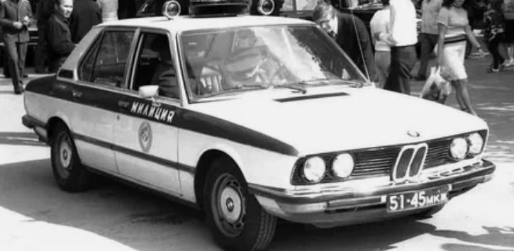 BMW давал преимущество советским милиционерам / Фото: ©popmech.ru