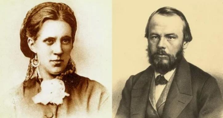 Достоевский с женой
