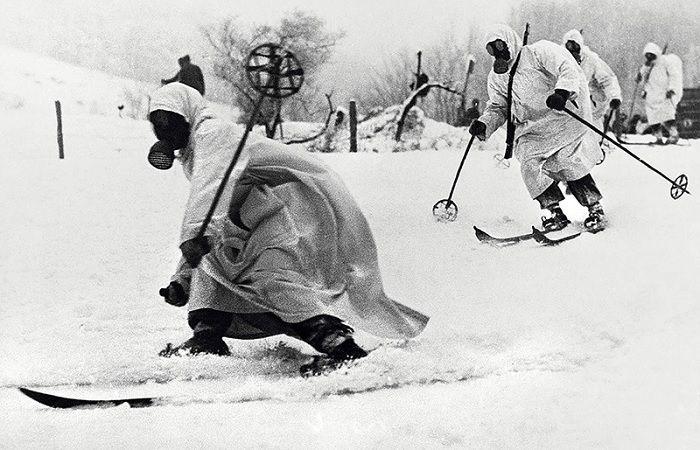 Бойцы из лыжного батальона подготавливались пять месяцев