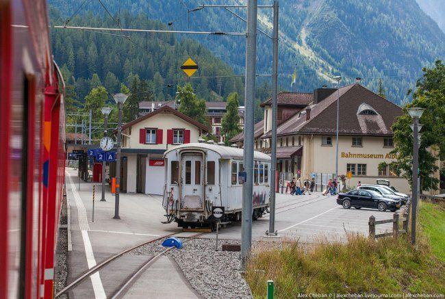 Городок в Швейцарии