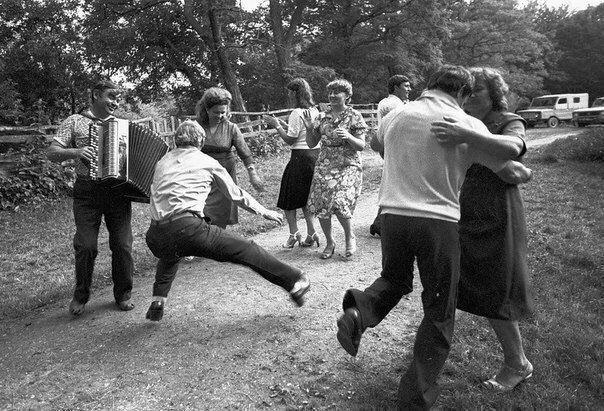 Советские праздники всегда проходили с танцами