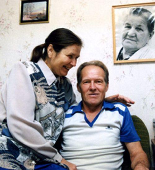 Ельцин, брат, Михаил, супруга