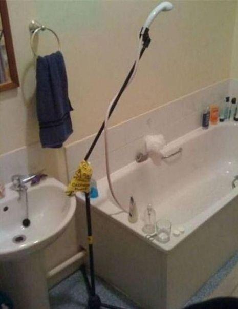 ванна, приспособление, душ