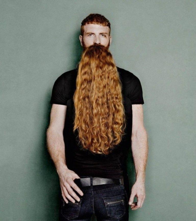 мужчина, женщина, волосы, борода