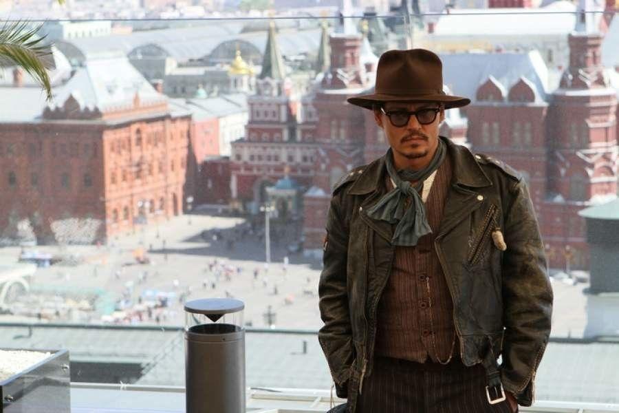 Депп, Москва