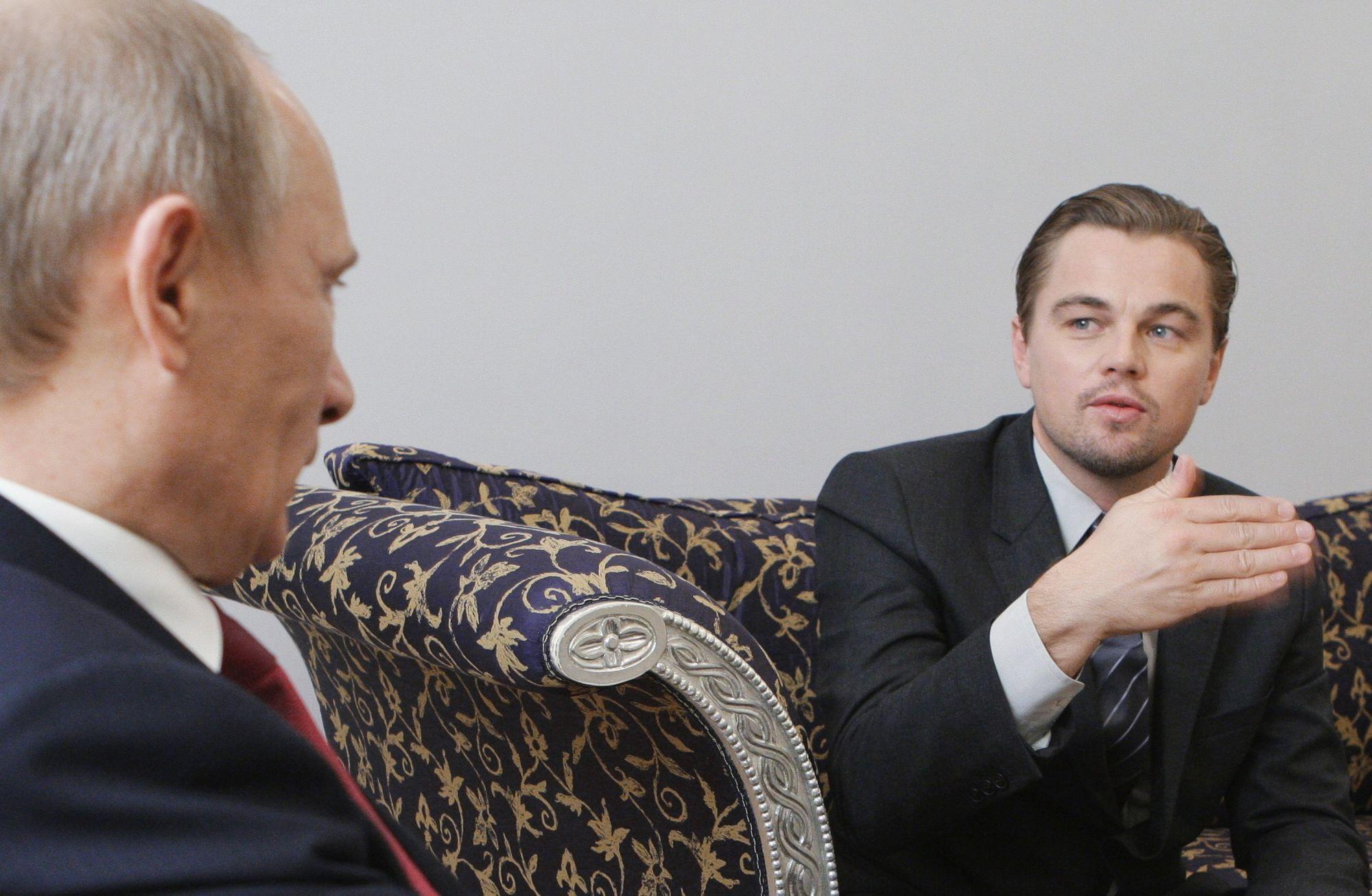 Ди Каприо, Путин