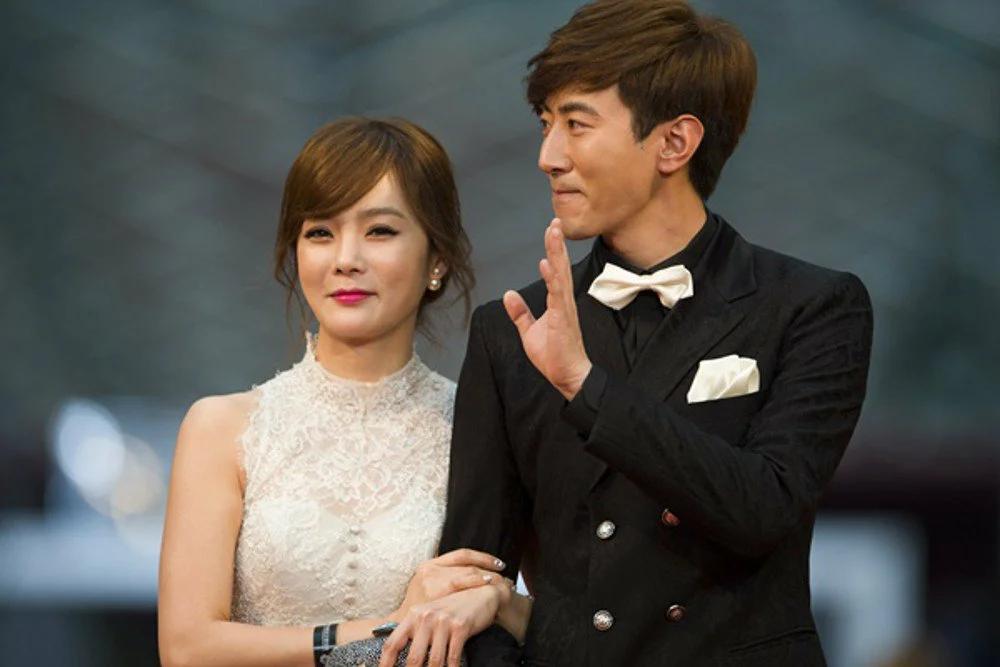 актриса, пара, Корея, звезды