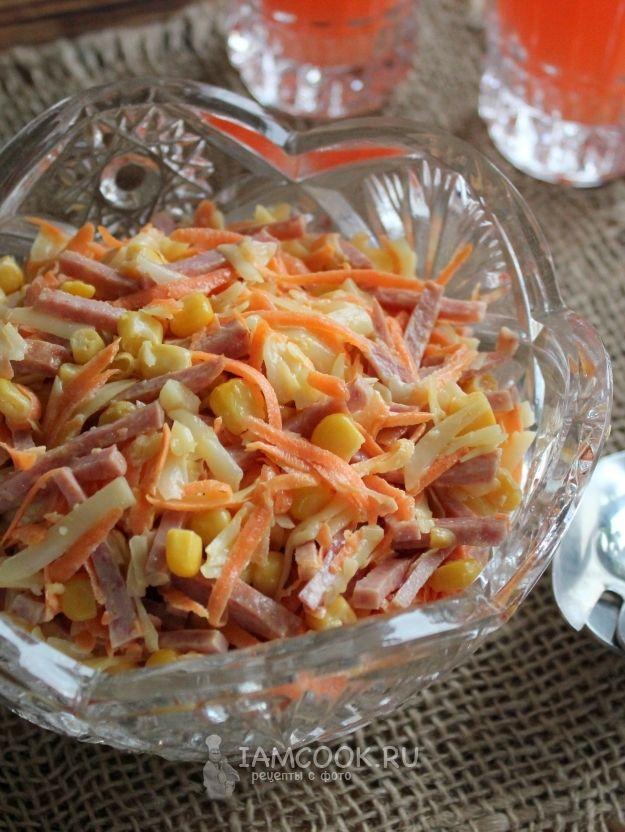 рецепт, салат